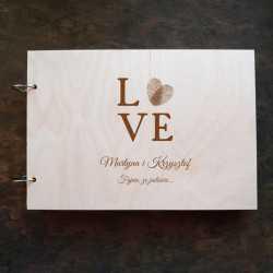 Księga gości weselnych - LOVE
