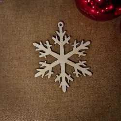 Drewniany płatek śniegu - 5