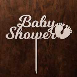 Topper Baby Shower - stópki